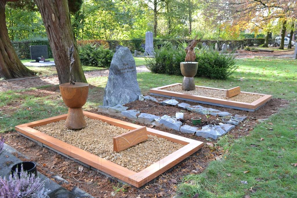 houten grafmonument, houten gedenkteken, eigen ontwerp