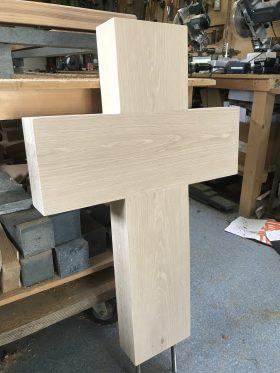 houten kruis, eiken