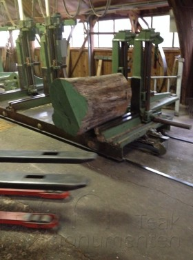 houten grafmonument, houten schijf