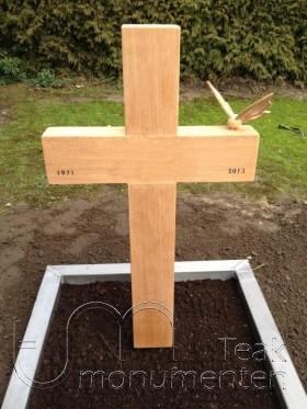 houten kruis, standaard model