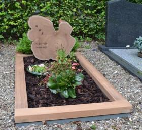 houten gedenkteken, dwarsdoorsnede stam